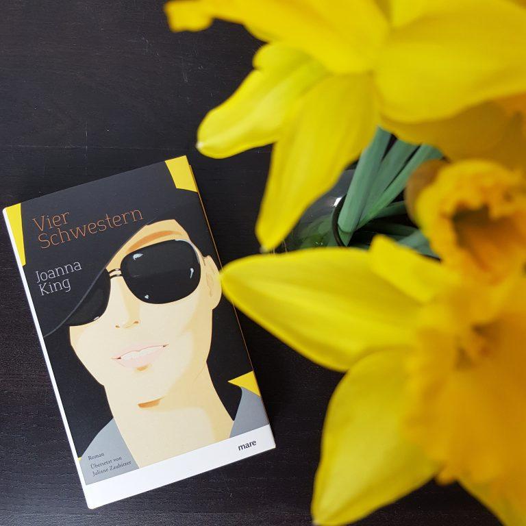 Vier Schwestern Buchcover von Joanna King aus dem Mare Verlag