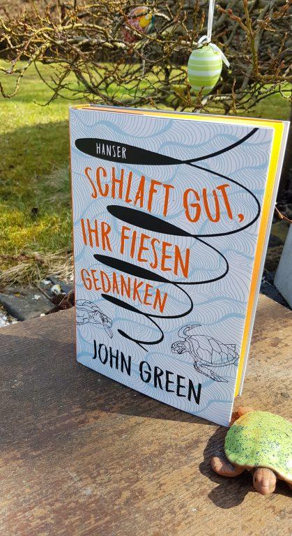 """""""Schlaft gut, ihr fiesen Gedanken"""" von John Green [ Rezension]"""