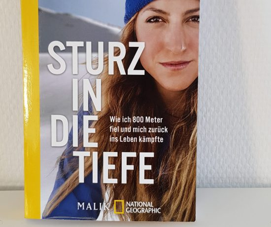 Buchcover von Sturz in die Tiefe