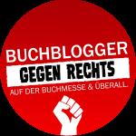 Logo Buchblogger gegen rechts