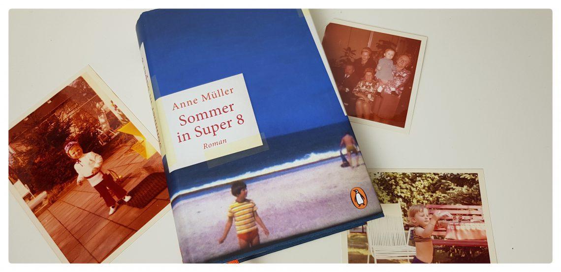 Buchcover zu ein Sommer in super 8