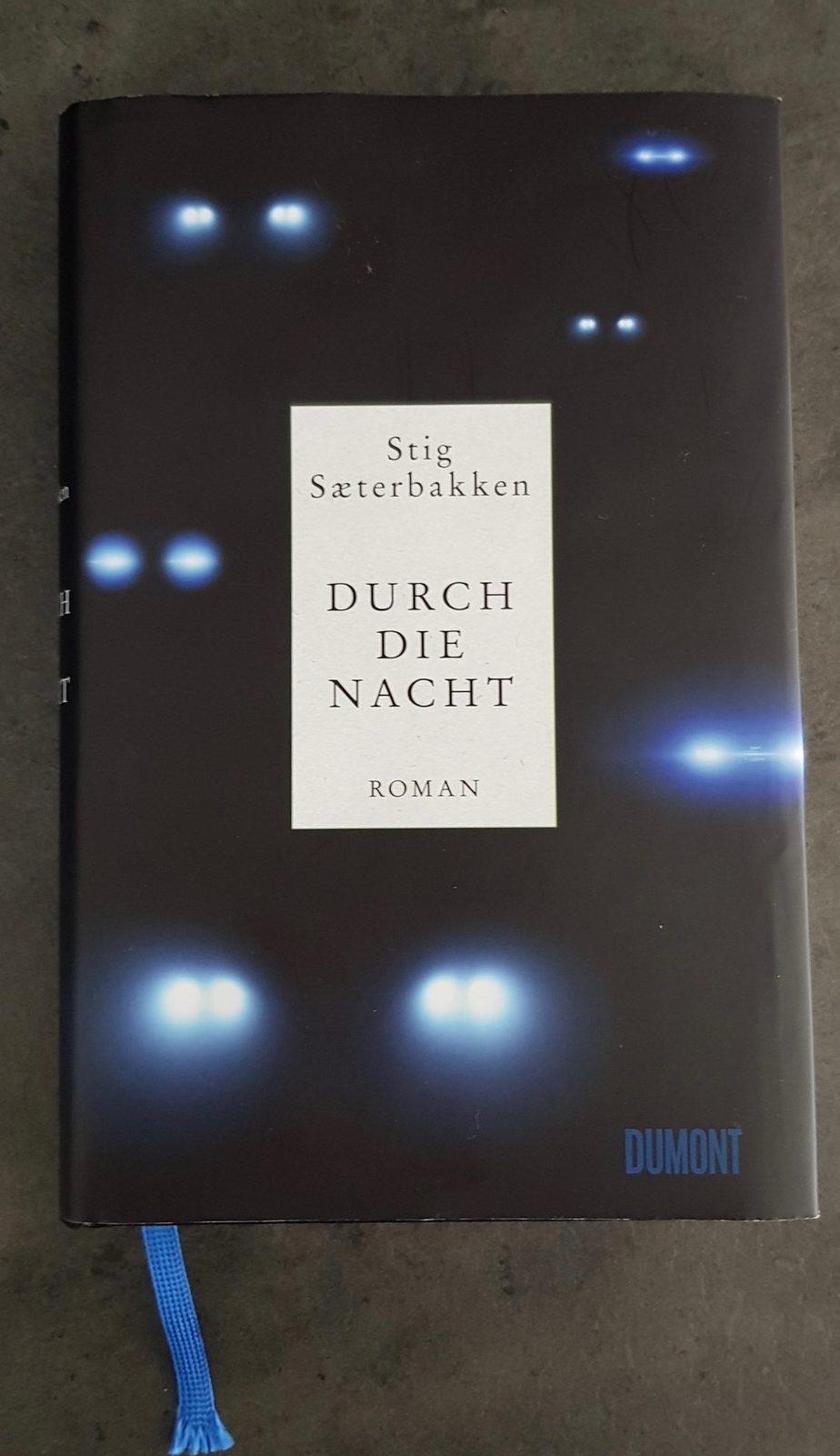 Buchcover zu durch die Nacht