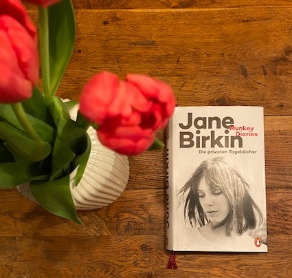 Buchcover Jane Birkin Tagebücher