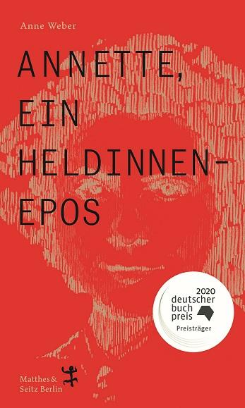 Buchcover Annette Heldinnenepos